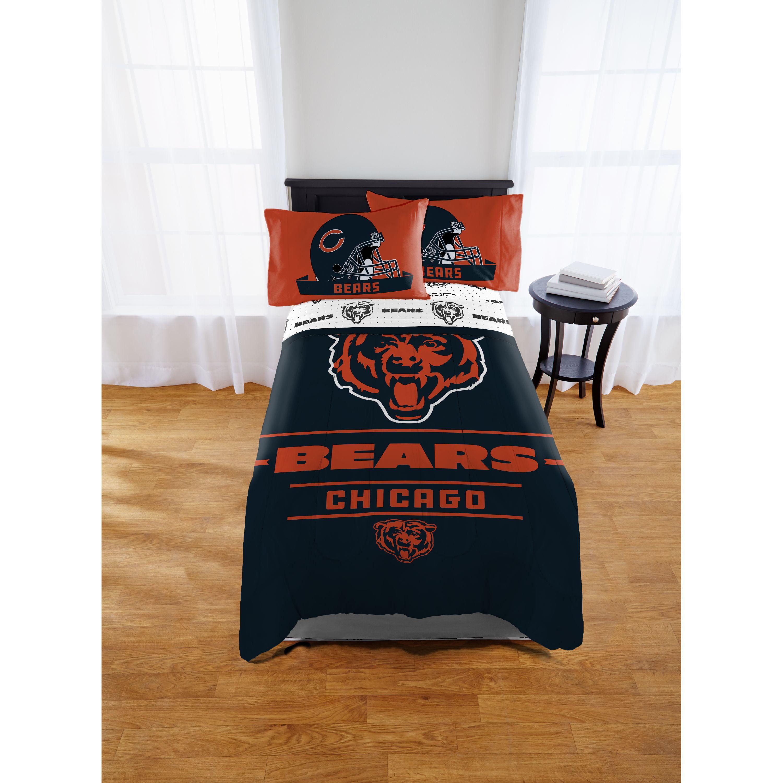 NFL Chicago Bears Monument Twin or Full Comforter, 1 Each