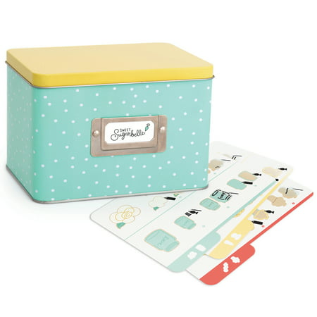 Maple Recipe Box - Sweet Sugarbelle Recipe Card Box-