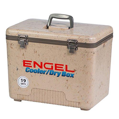 Engel USA Cooler//Dry Box 19-Quart Tan