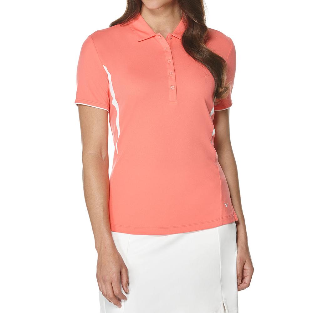 Callaway Short Sleeve Color Blocked Golf Polo 2016 Ladies
