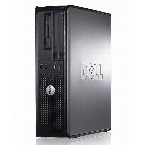 Dell Refurbished Black Optiplex 745 Desktop PC with Intel Pentium D 945 Processor, 2GB Memory, 320GB Hard Drive, Windows 7 Professional (Monitor Not Included)