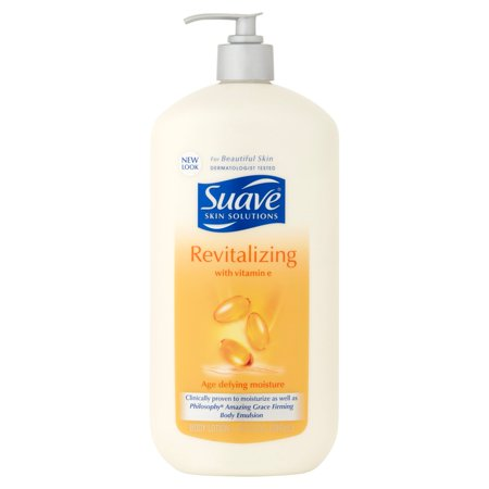 Suave Skin Solutions Revitalizing Body Lotion With Vitamin E  32 Fl Oz
