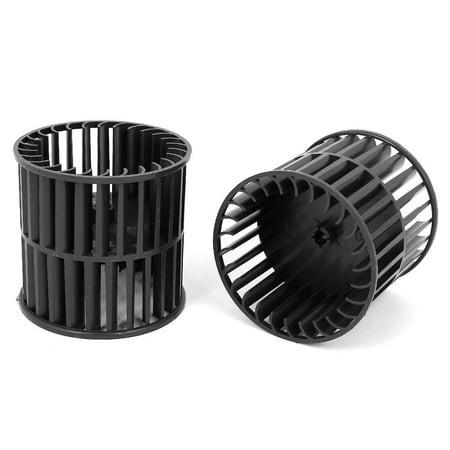 Black Plastic Cylinder Injection Molding Motor Rotor Shell 3.5