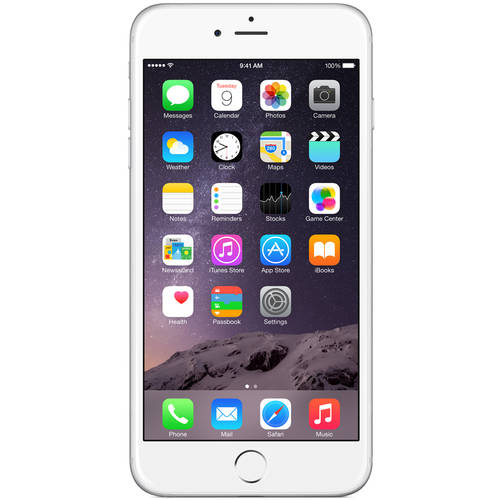 US Cellular Apple iPhone 6 Plus 16GB LTE, Silver, Refurbished