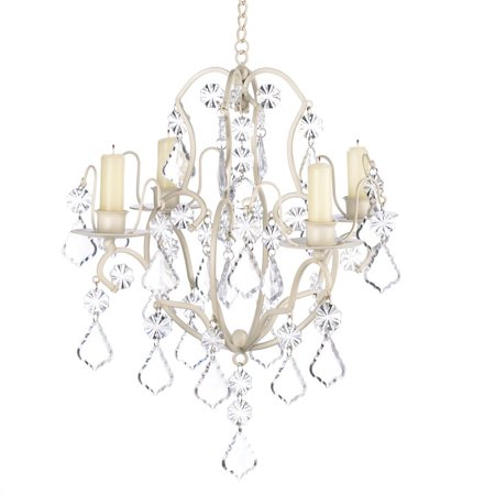 Decorative Chandelier Candle, Hanging Candle Chandelier White Ivory For Light
