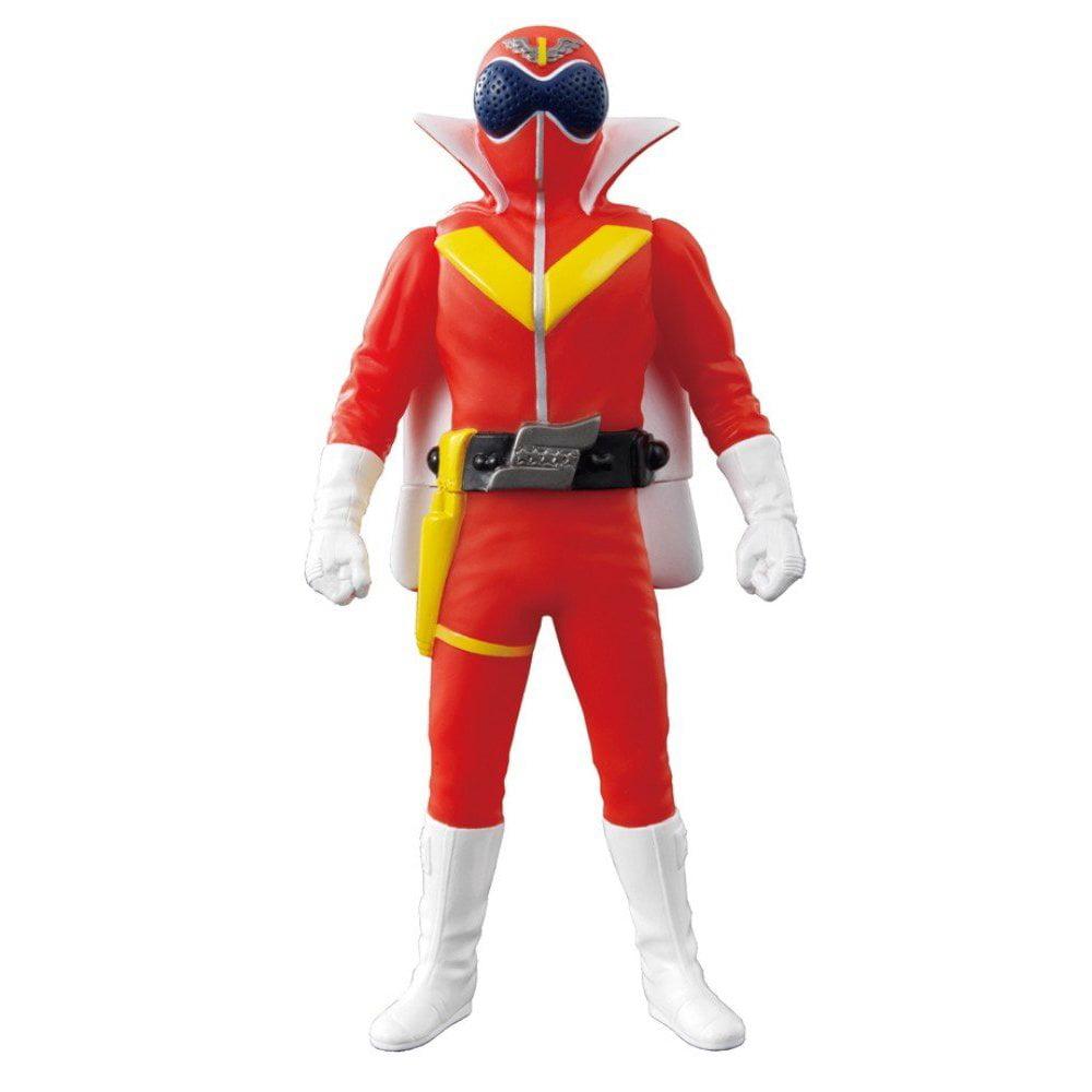 Power Rangers Goranger Aka Ranger Soft Vinyl Figure by Bandai