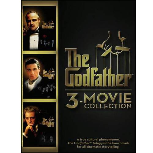 The Godfather: 3-Movie Collection: The Godfather /  The Godfather Part II / The Godfather Part III
