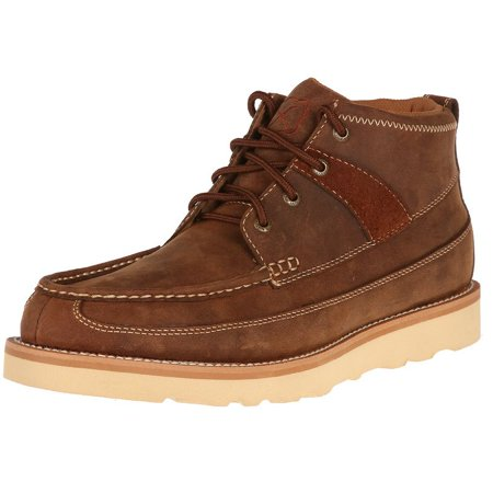 Twisted X Boots Mens  Oiled Saddle Wedge Casuals