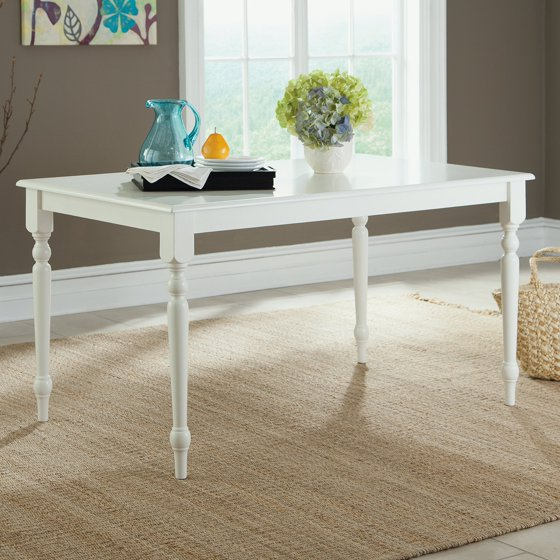Rectangle Dining Table With Bench: Sauder Cottage Road Rectangular Dining Table