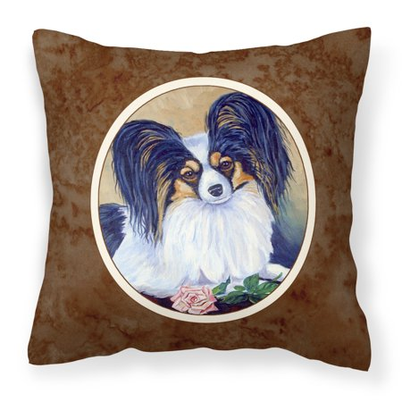 Papillon A Rose for you Fabric Decorative Pillow