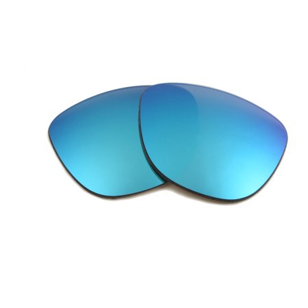 Replacement Lenses Compatible with OAKLEY Frogskins Polarized Ice Blue Mirror (Blau Frogskins)