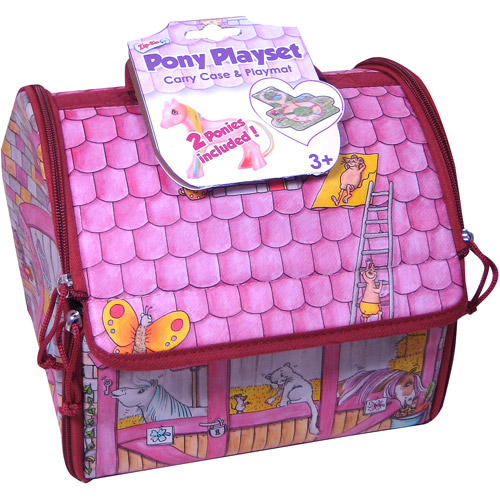 Neat-Oh! ZipBin Princess Enchanted Pony Day Tote Play Set