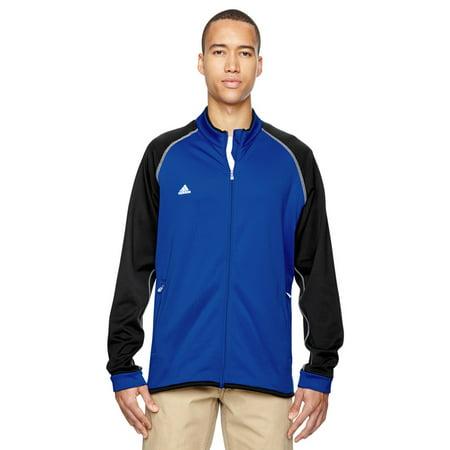 Adidas A200 Mens Climawarm Jacket -Vivid Blue/Blk -Small