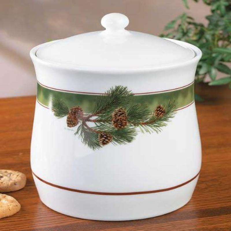 Pinecone Cookie Jar by Persis Clayton Weirs by