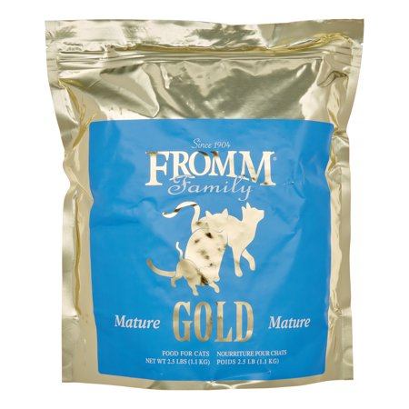 Fromm Family Mature Gold Dry Cat Food, 2.5 Lb