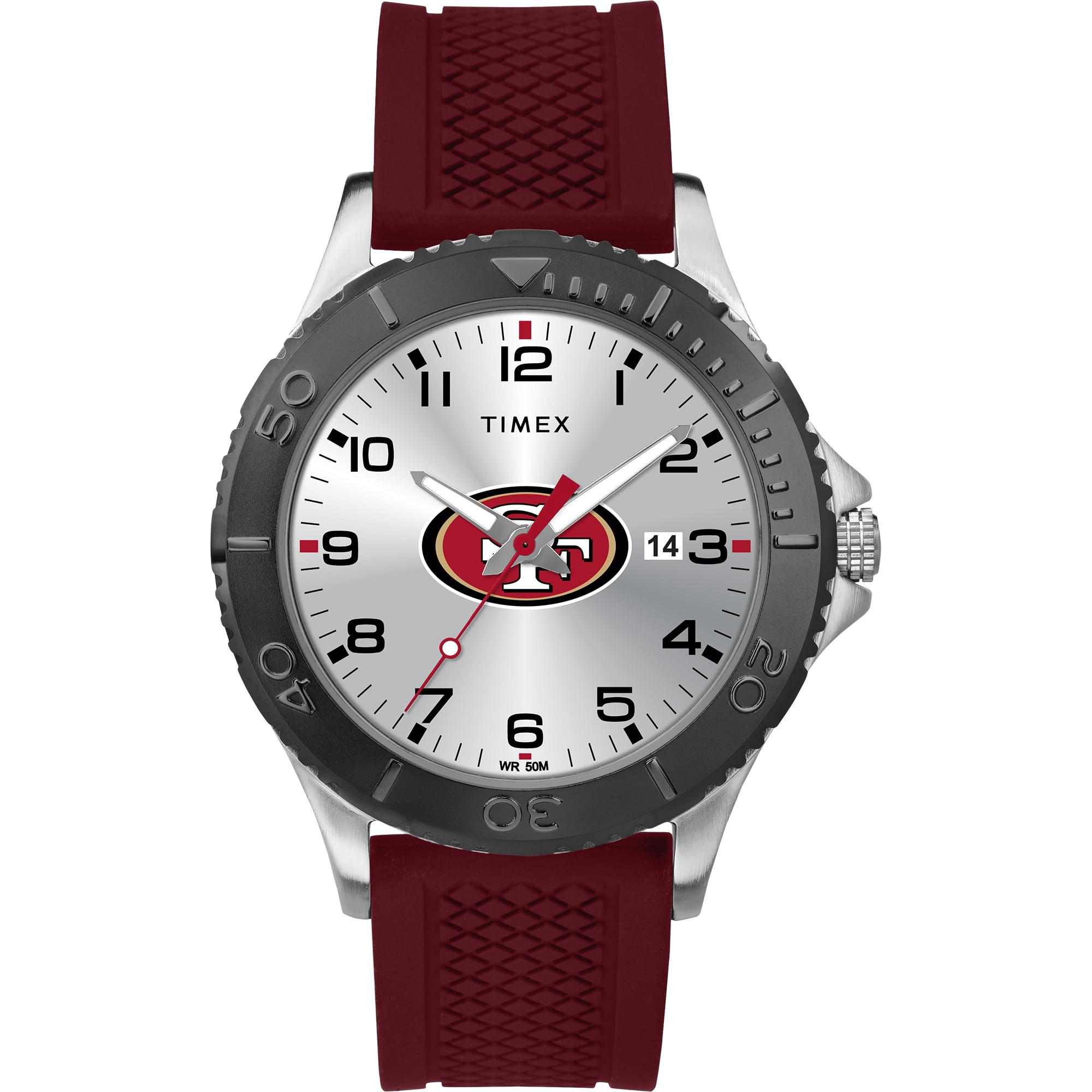 Timex - NFL Tribute Collection Gamer Crimson Men's Watch, San Francisco 49ers