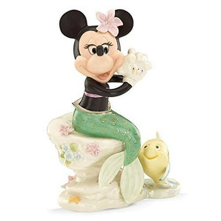 - Lenox Disney Minnie Mouse Under The Sea Mermaid Figurine #837882