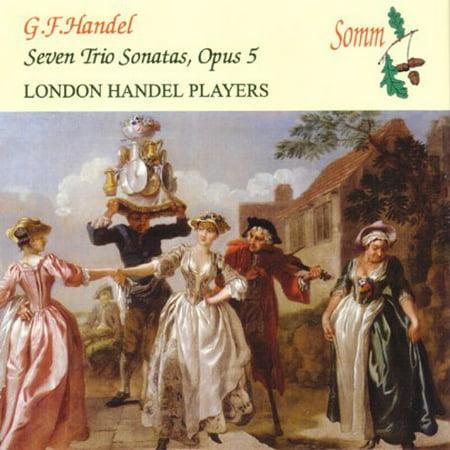 Handel, G.F. : Seven Trio Sonatas Op. 5 (Handel Six Sonatas)