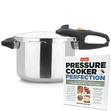 Zavor Duo 8.4 qt Pressure Cooker  with ' America's Test Kitchen'  Zavor edition  Pressure Cooker Perfection