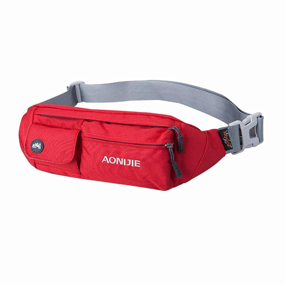 AONIJIE Water Resistant Waist Bag Fanny Pack Hip Pack Bum Bag Running Belt Exercise Bag for Sports Travel Running... by AONIJIE