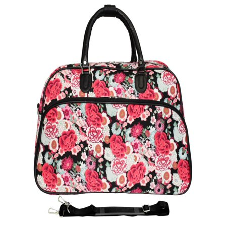World Traveler Spiral 21 in. Carry On Duffel Bag (Traveler Bass)