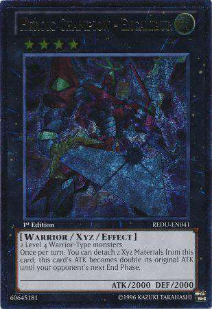 YuGiOh Return of the Duelist Heroic Champion Excalibur REDU-EN041 by
