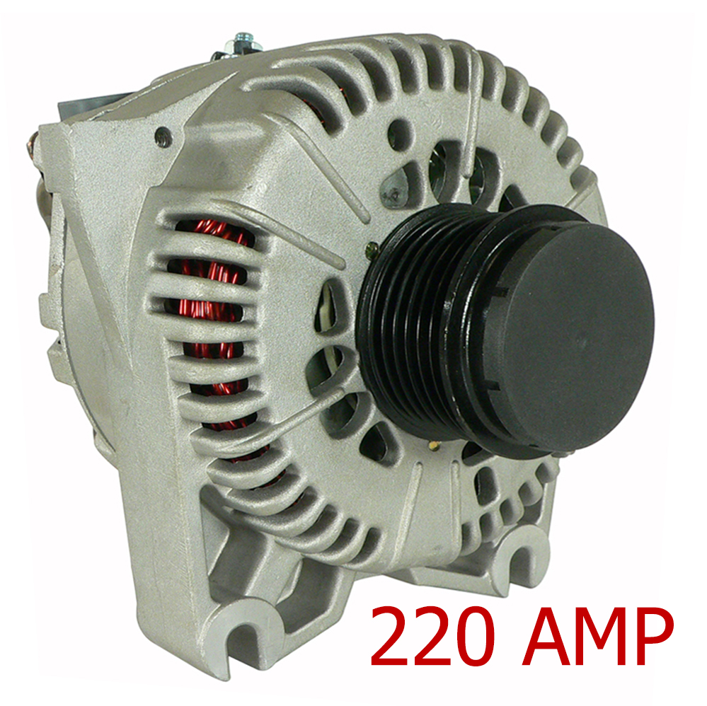 NEW 220A HIGH AMP ALTERNATOR FITS FORD MUSTANG 4.6L VIN R 2004 3R3U-AA 3R3UAA