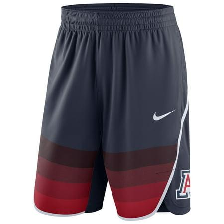 Arizona Wildcats Nike On Court Basketball Shorts - Navy