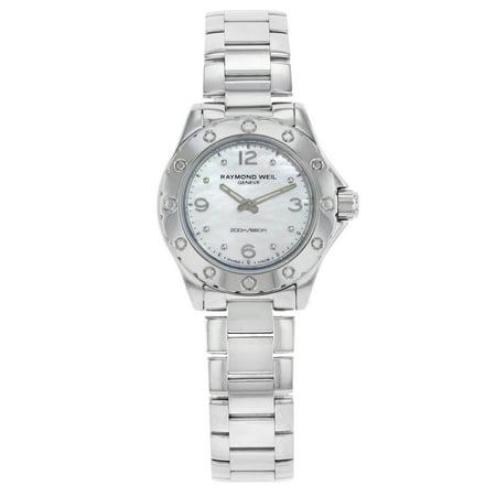 Raymond Weil Spirit Steel White MOP Quartz Ladies Watch 3170-ST-05915