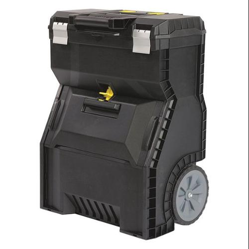 Stanley Mobile Stackable Storage, Black 018800R