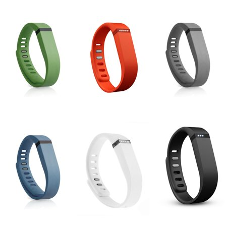 Replacement wrist bands for Fitbit Flex- Set of 7