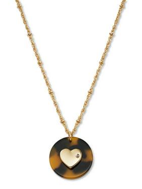 C. Wonder Womens Heart Pendant Necklace