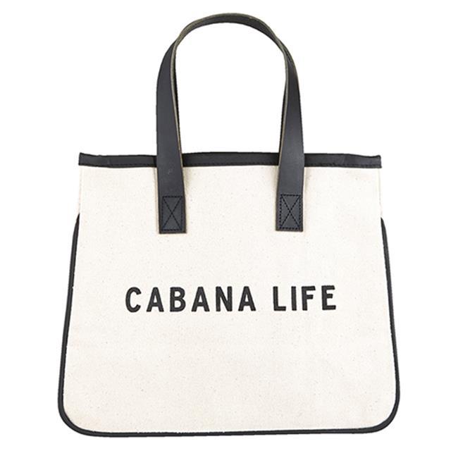 Cabana Beach House Tote Market Bag Handmade Everyday Tote