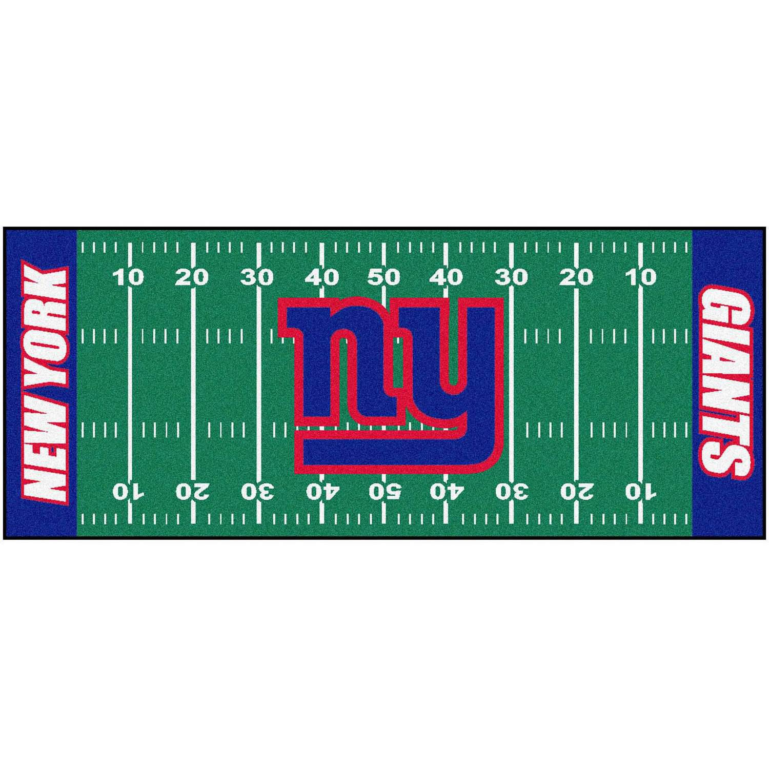 NFL New York Giants Football Field Runner