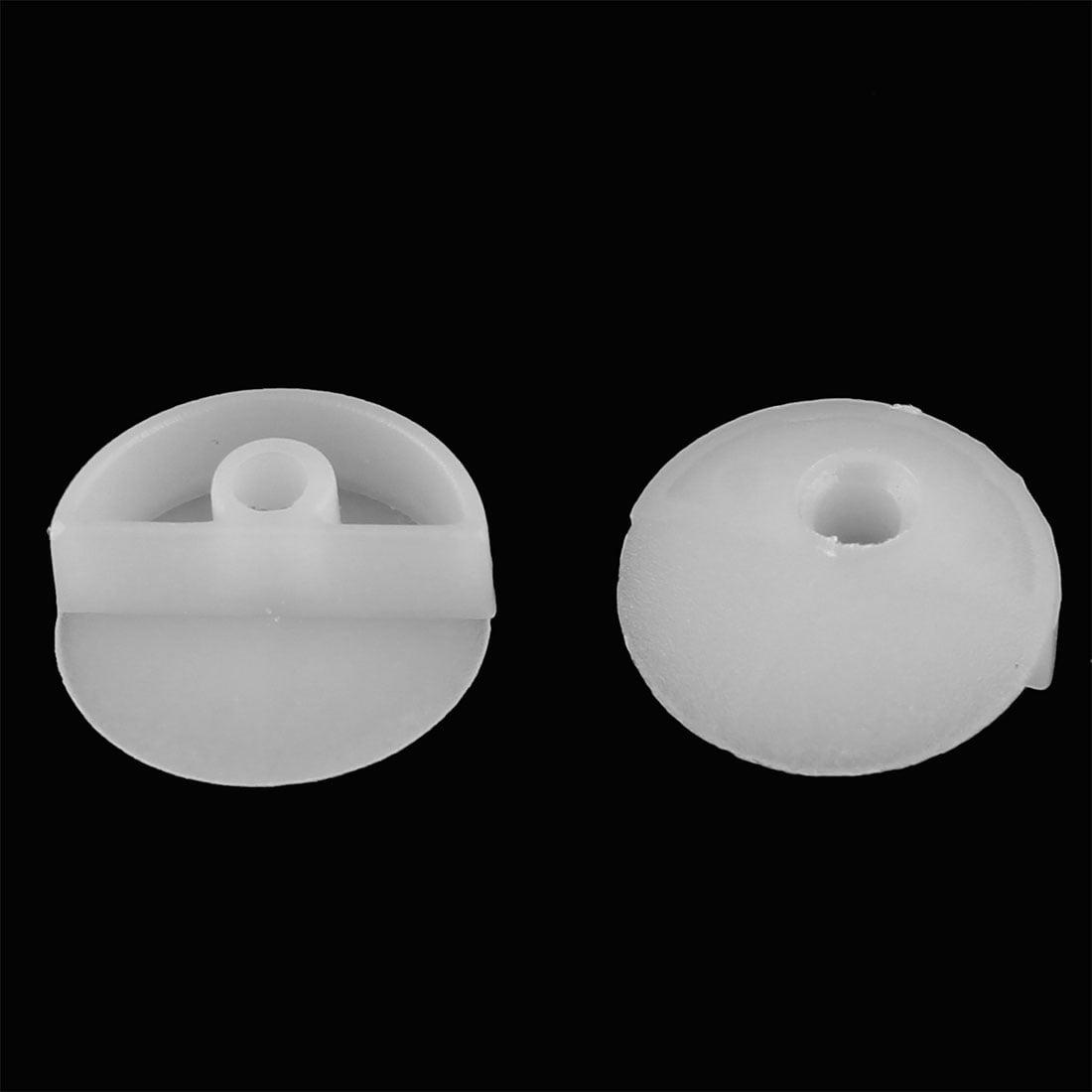 Furniture Mirror Corner Button Angle Buckle 180 Degree 6mm Thickness 20pcs - image 1 de 2