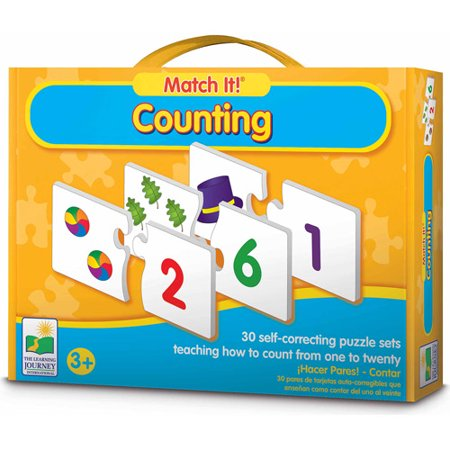 The Learning Journey Match It! Counting](Learning Toys For 3 Year Olds)