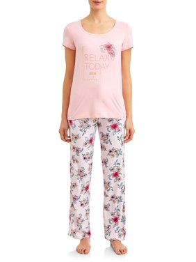 8daf813b2 Product Image Women's and Women's Plus Short, Pant, and Sleep Top (3-Piece  Set
