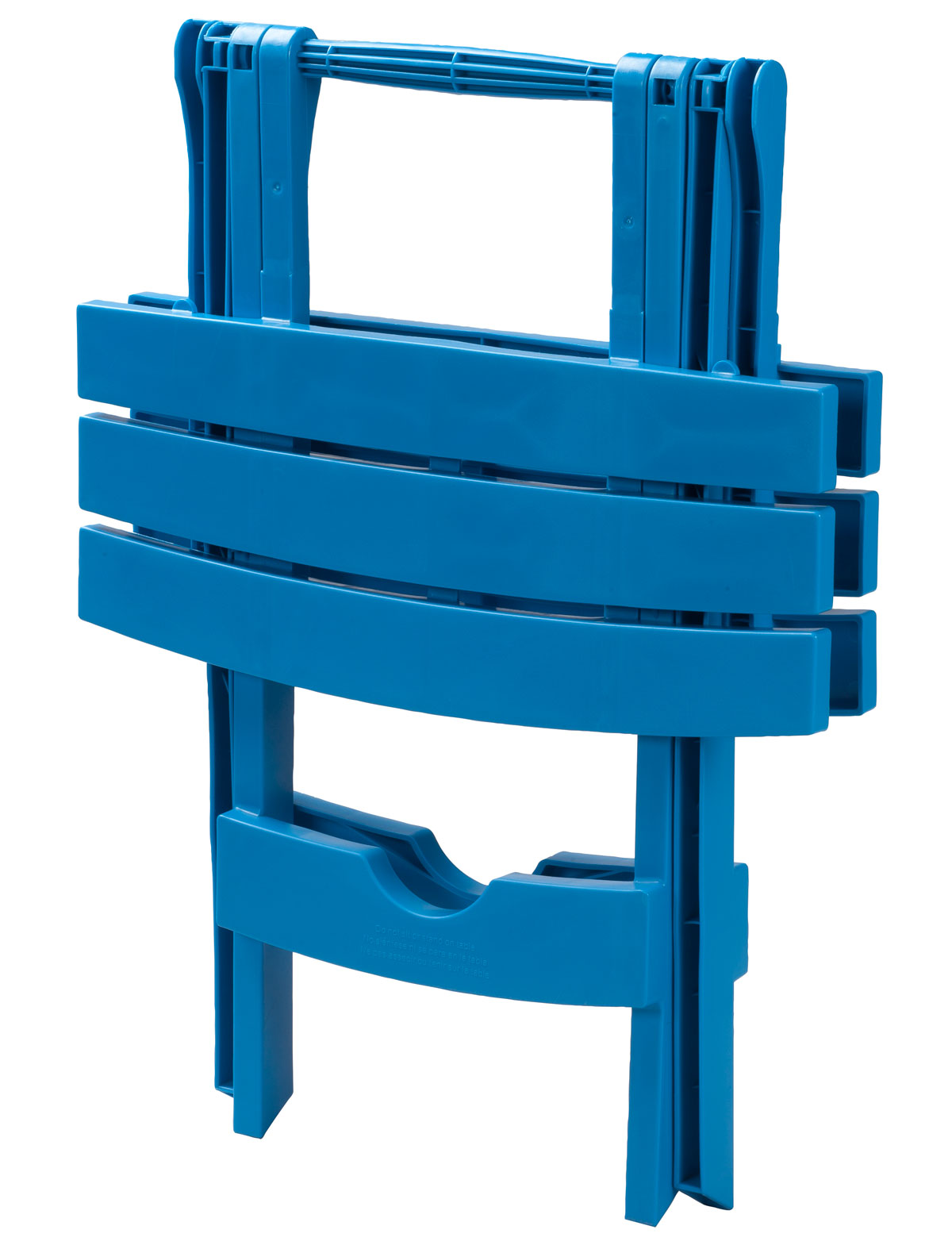 Adams Manufacturing Quik Fold Side Table, Pool Blue Image 2 Of 5