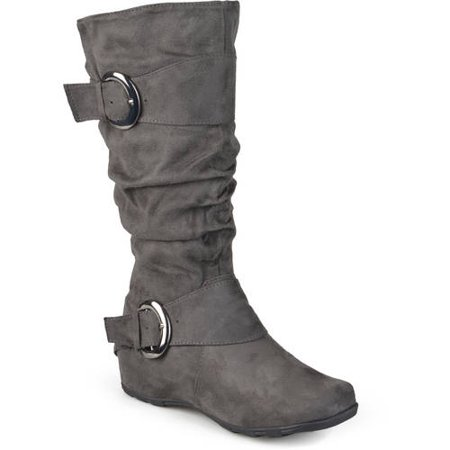 Image of Brinley Co. Women's Slouchy Wide Calf Boots