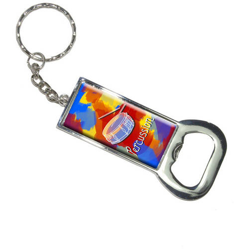 Percussion Snare Drums Musical Instrument Music Band Keychain Bottle Bottlecap Opener