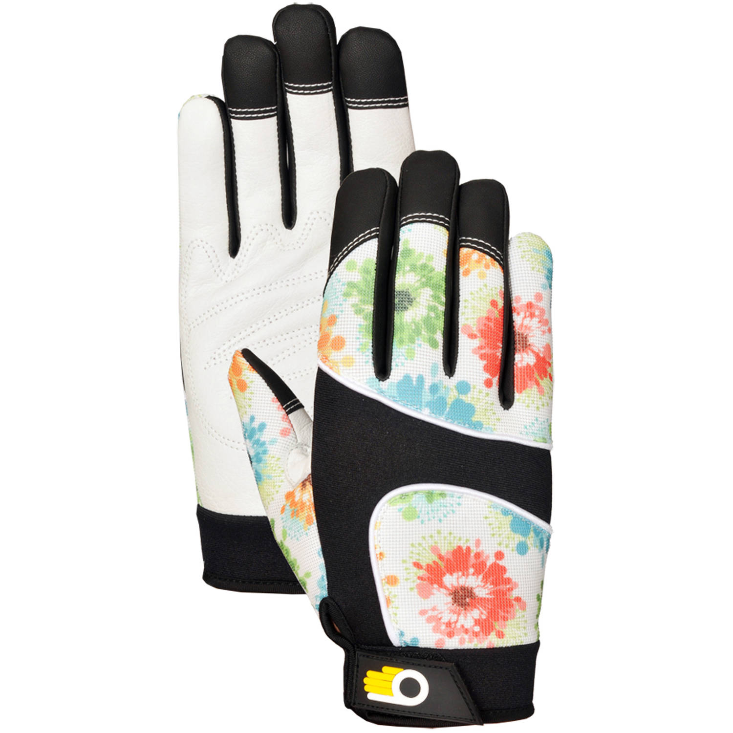 Bellingham Glove C7781L Large Women's Floral Performance Gloves