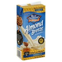 Non-Dairy Milks: Almond Breeze Hint of Honey