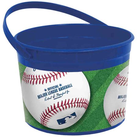 Baseball Favor Bucket (Each) - Party Supplies (Baseball Supplies)