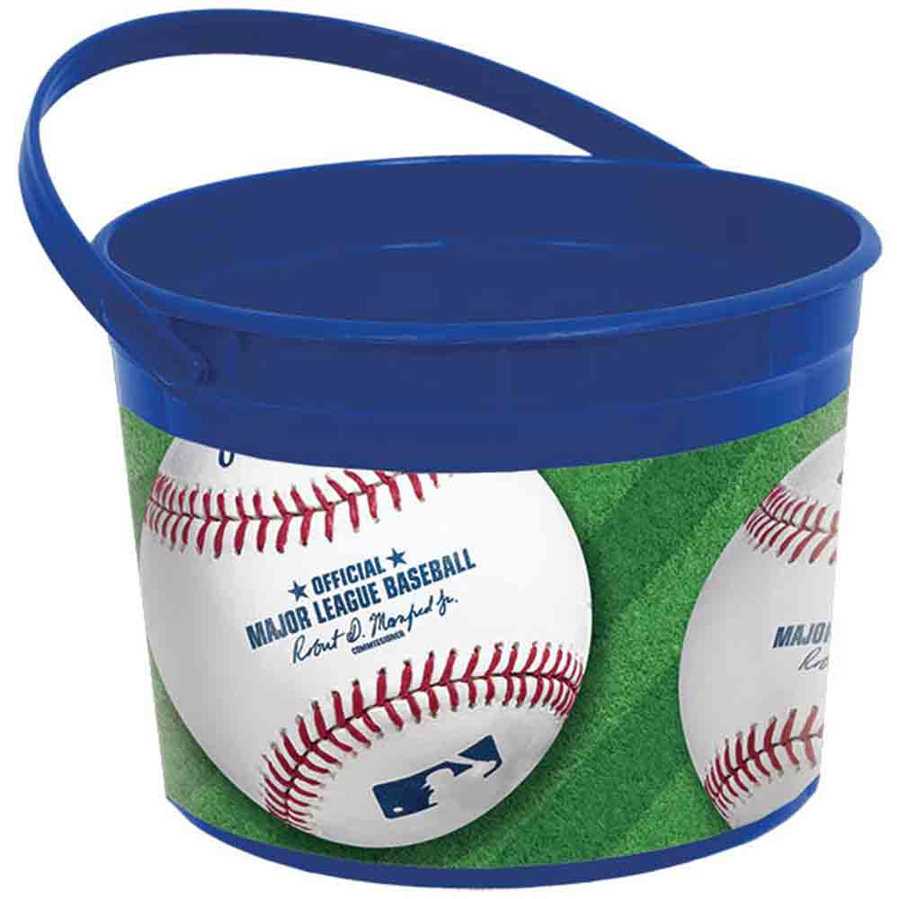Baseball Favor Bucket (Each) - Party Supplies