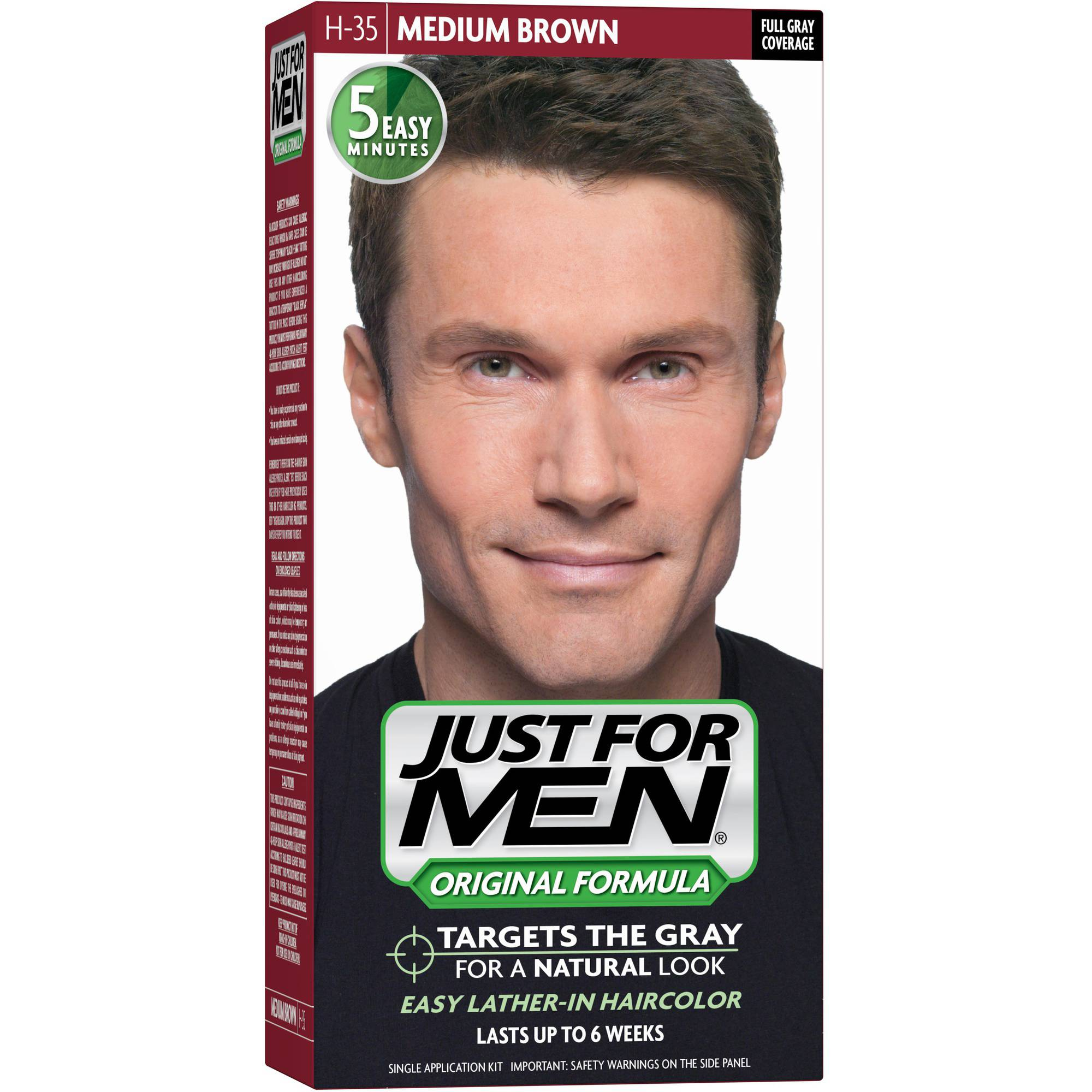 Just For Men Shampoo, Medium Brown
