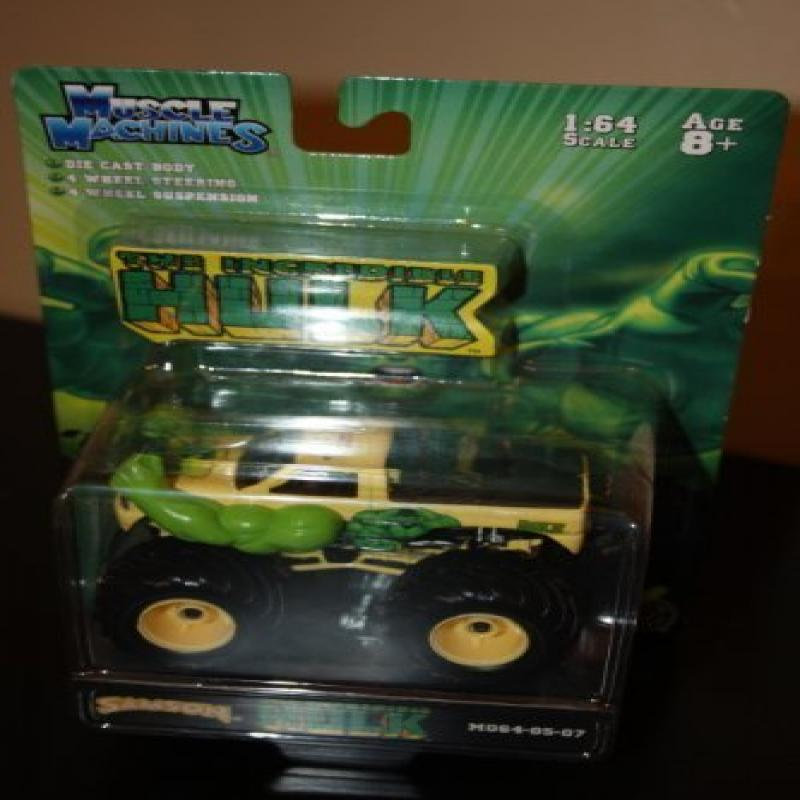 Action Technologies The Incredible Hulk Monster Truck 1:6...
