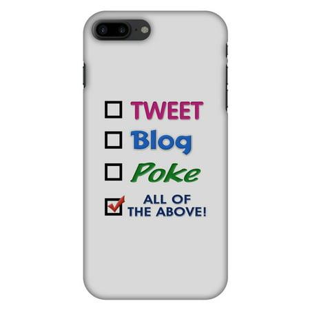 check out 98bfa 89864 iPhone 8 Plus Designer Case, Premium Handcrafted Printed Designer Hard  ShockProof Case Back Cover for iPhone 8 Plus - Tweet
