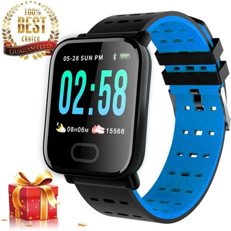 Smart Watch Fitness Tracker Smart Wristband with Heart Rate Monitor Blood Pressure Activity Fitness Watch for Women Men - image 11 of 11