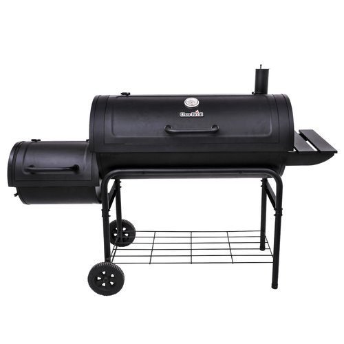 Char-Broil American Gourmet Offset Charcoal Smoker and Grill