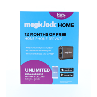 NEW magicJack Home Unlimited Local and Long Distance Calling